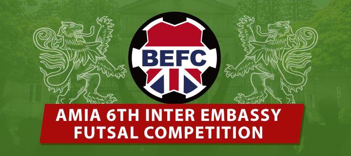 AMIA Inter-Embassy - 6th Tokyo International Futsal Tournament