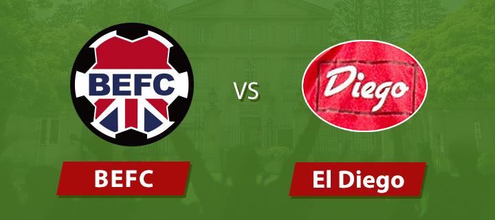 BEFC vs El Diego TML14