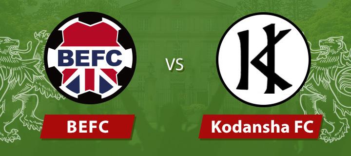 BEFC vs Kodansha