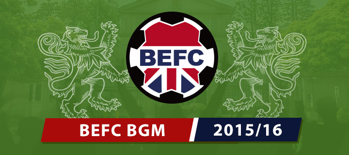 BEFC Half Season General Meeting 2016