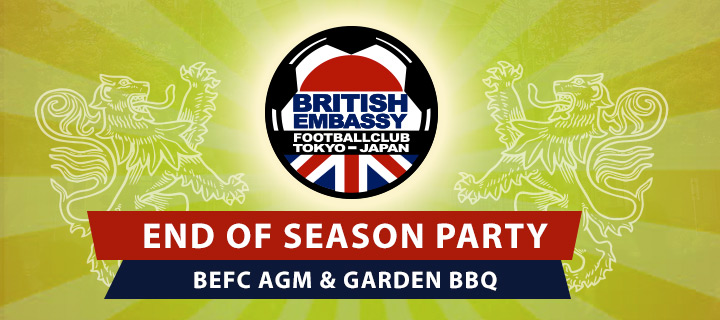 BEFC End of Season Party - Garden Party, BBQ and AGM