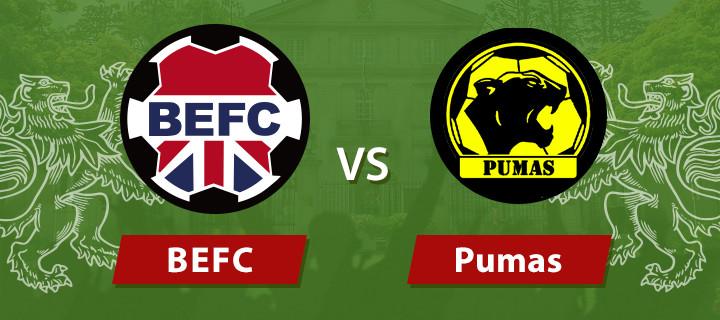 BEFC Lions vs Pumas