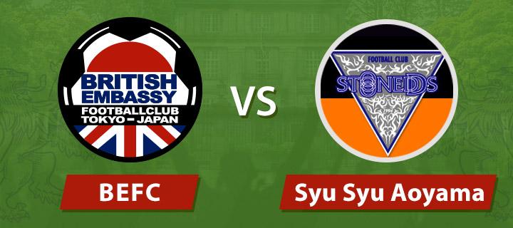 BEFC vs Syu Syu Aoyama