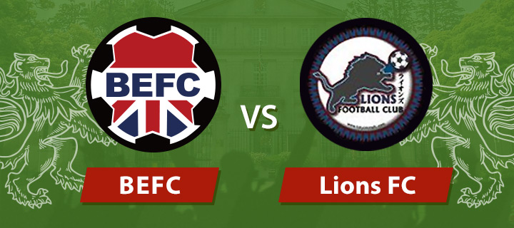 BEFC vs Lions