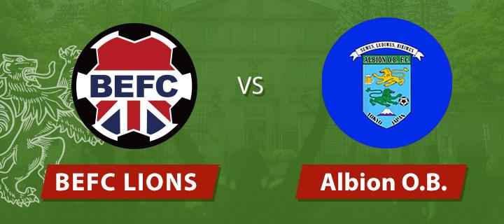 BEFC Lions vs Albion OB