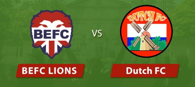 Lions vs Dutch (pt 2)