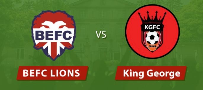 BEFC Lions vs King George FC Part II: The Revenge