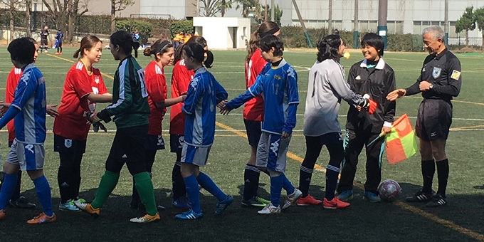 BEFC Ladies Football Club Tokyo at the Shibuya Smile8 Cup 2017
