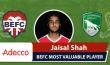 Adecco BEFC Most Valuable Player vs FC Sagamatha - Jaisal Shah