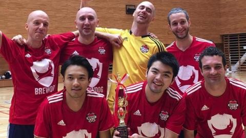 BEFC win AMIA 8th International Futsal Tournament