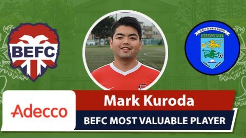 Adecco BEFC Most Valuable Player vs Albion OB - Mark Kuroda