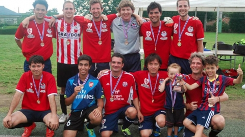 BEFC crowned Plate Champions of the Summer 7s football tournament